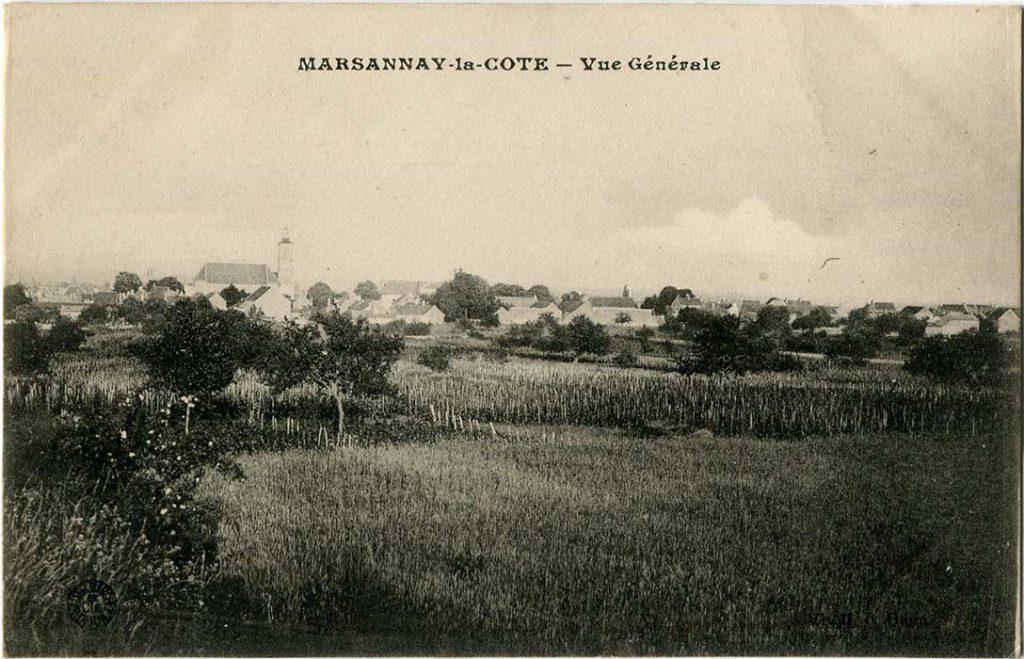 Marsannay-la-Côte, vue générale